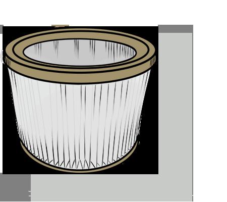 Les filtres lavables