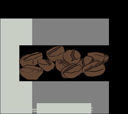 Grain de café Robusta