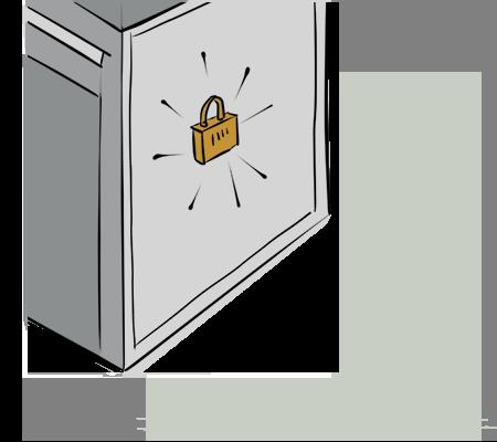 Garder le boitier fermé