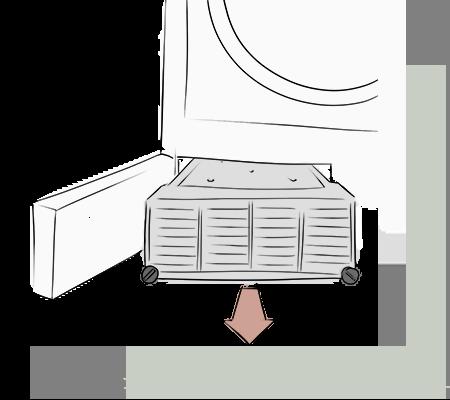 Extraire le condensateur