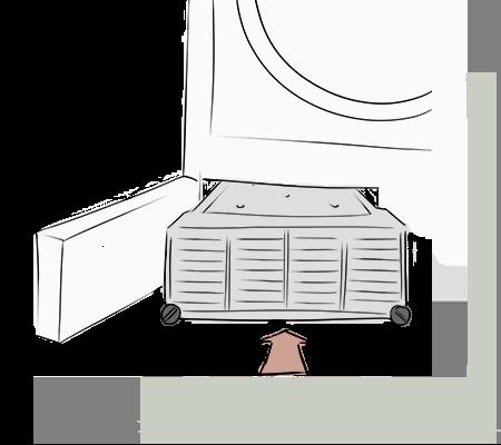Remettre en place le condensateur