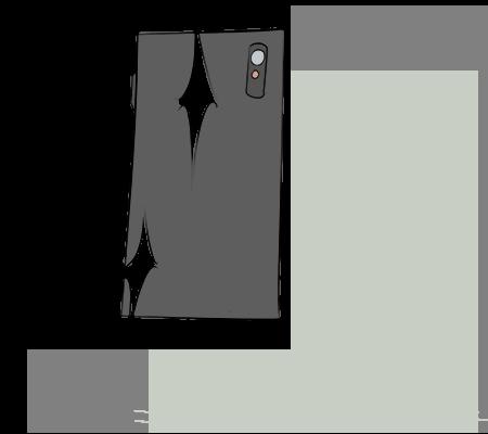 Coque de téléphone propre