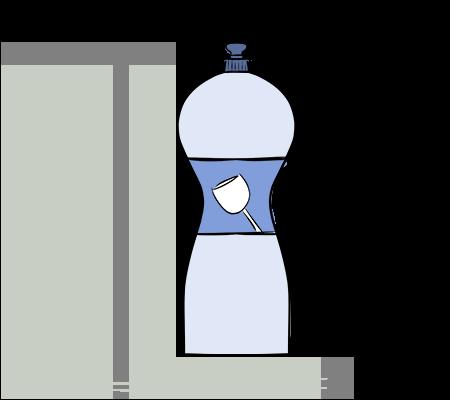 Du liquide vaisselle