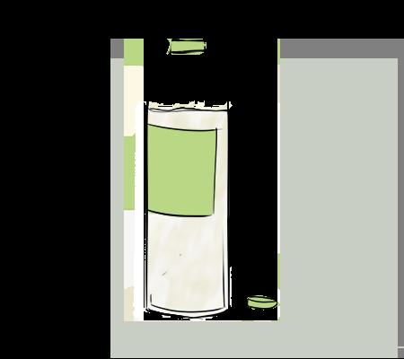 Du vinaigre blanc