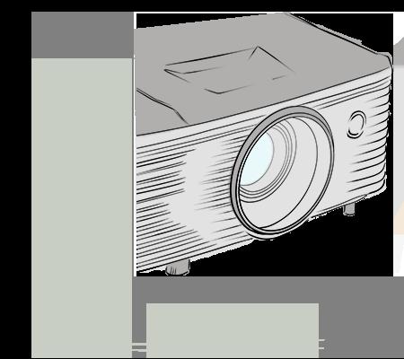 Objectif vidéoprojecteur